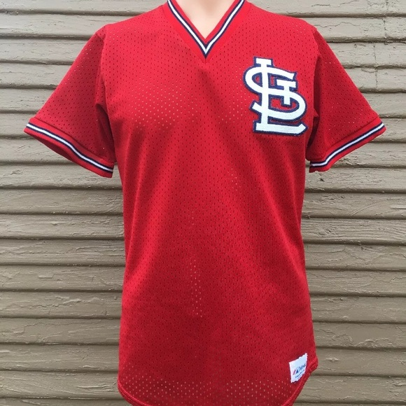 3128df83 Majestic Other   Mens Vintage 80s St Louis Cardinals Mlb Jersey ...